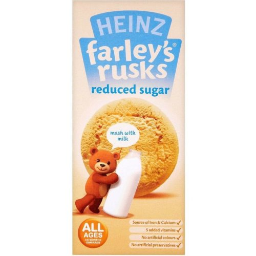Farley's Rusks Low Sugar 9'S (6 x 150g)
